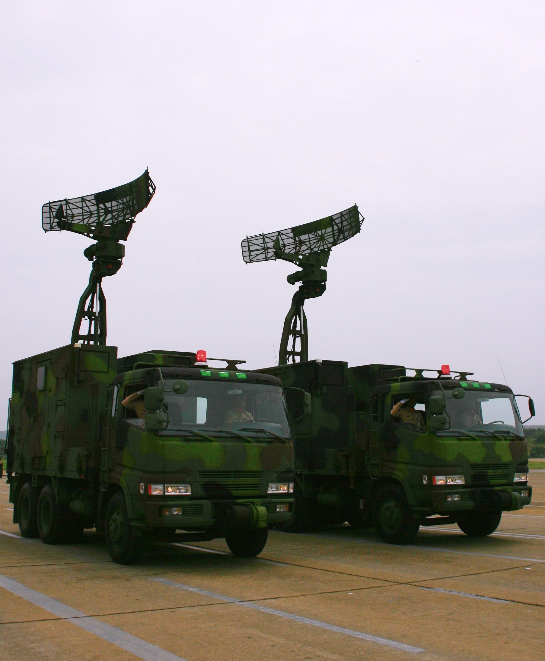 機動雷達車