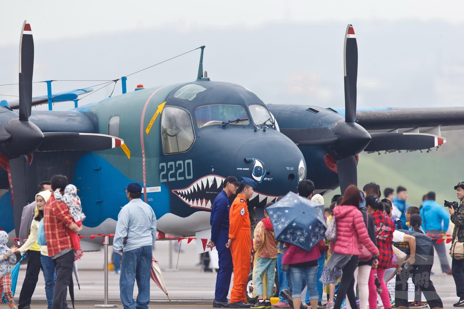 空軍清泉崗營區開放參觀活動