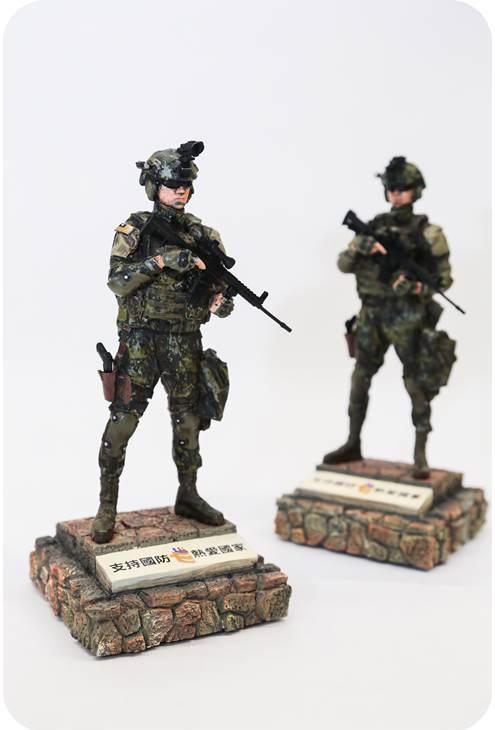 國軍特戰公仔圖片