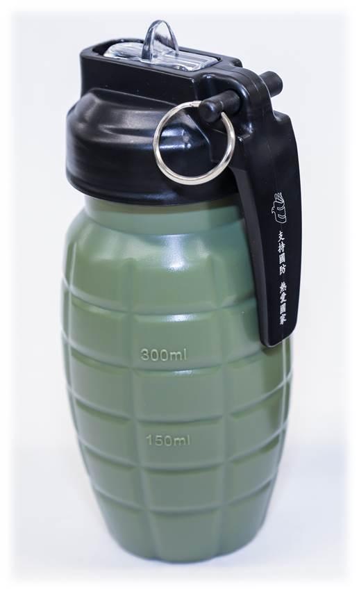 手榴彈造型運動水壺圖片
