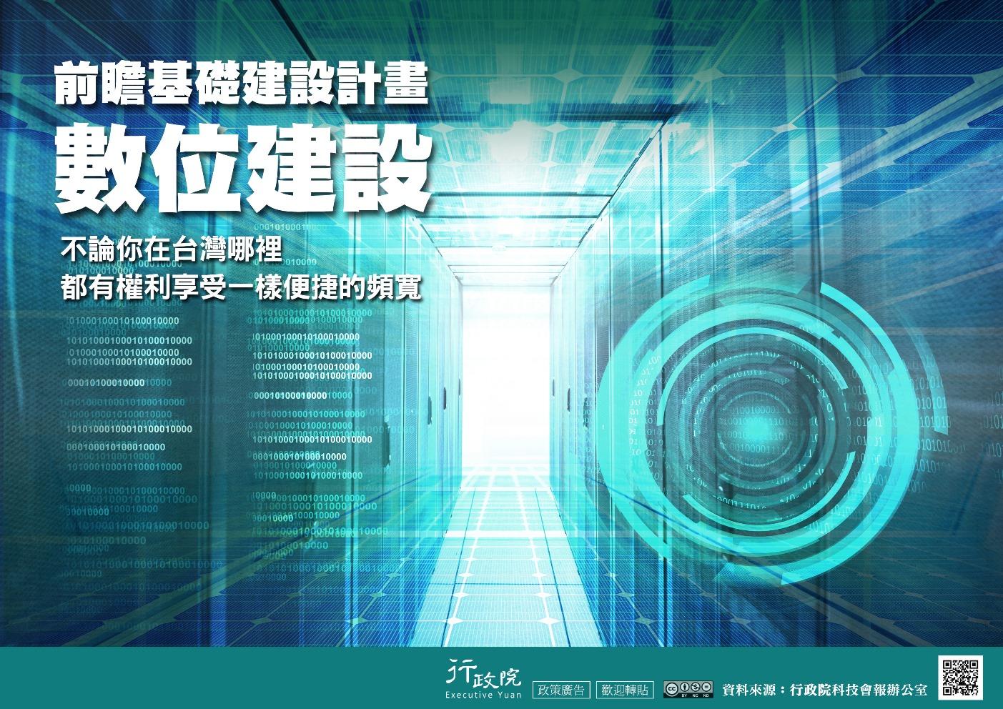 圖:前瞻基礎數位建設