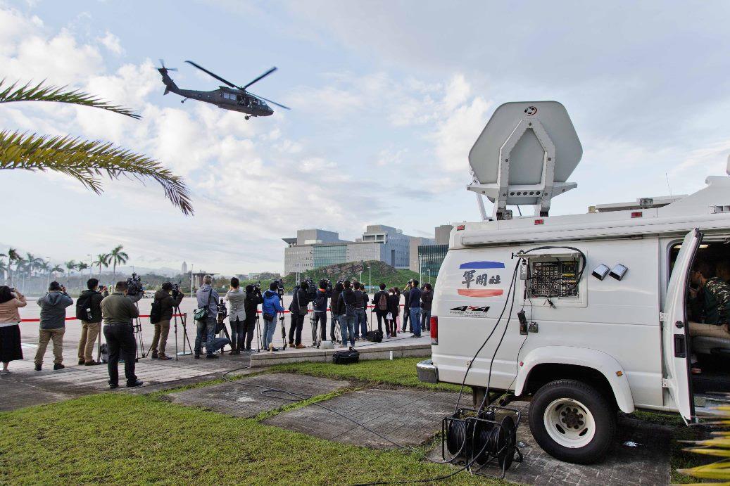 圖:SNG衛星新聞播送
