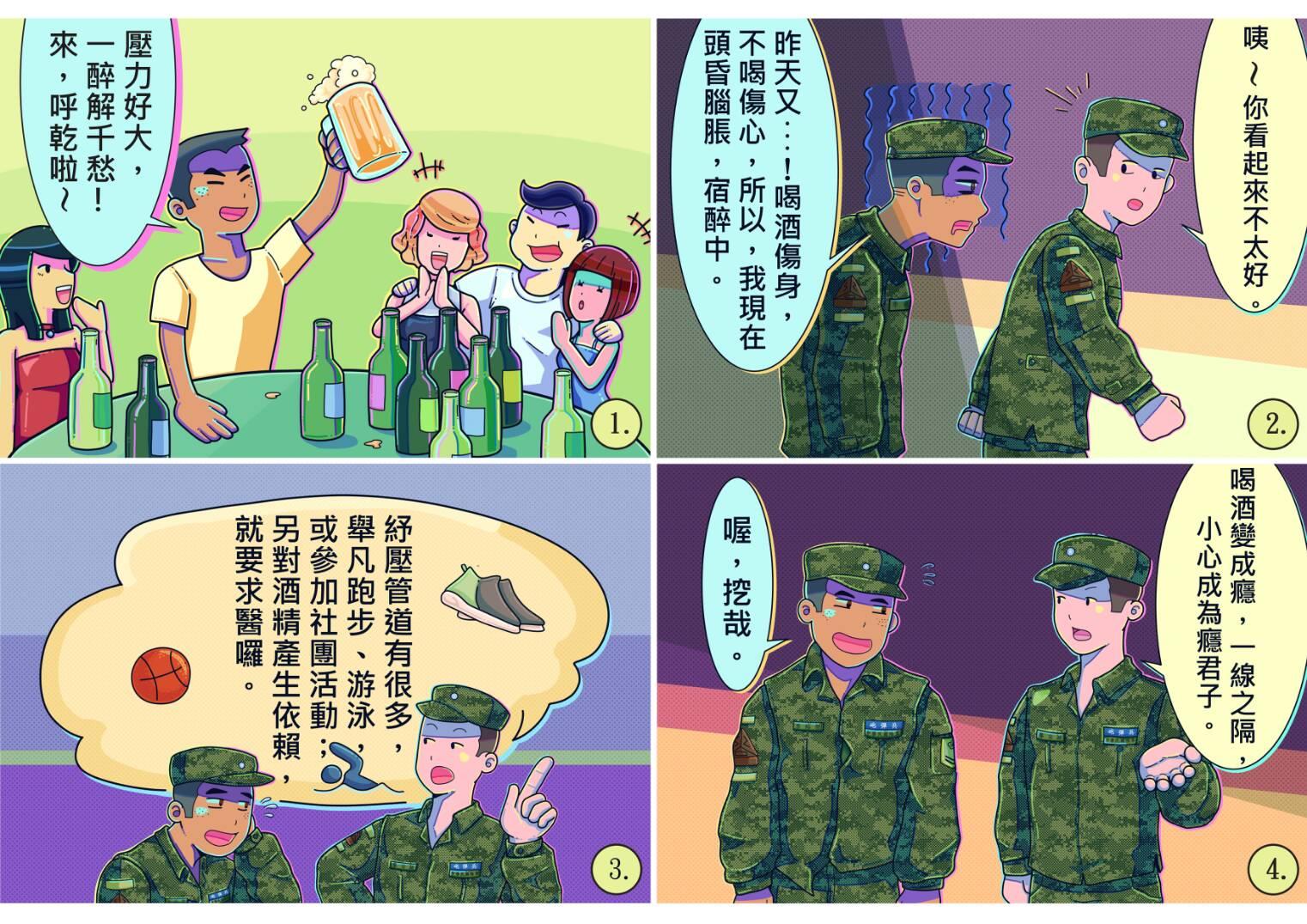 行為偏差-嗜酒成性:拒當癮君子(鍾易達繪製).jpg