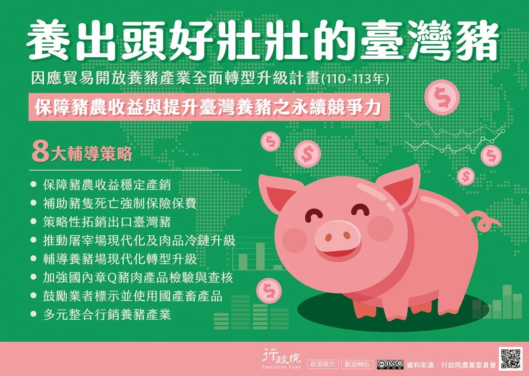 行政院政策櫥窗-推動養豬產業全面升級